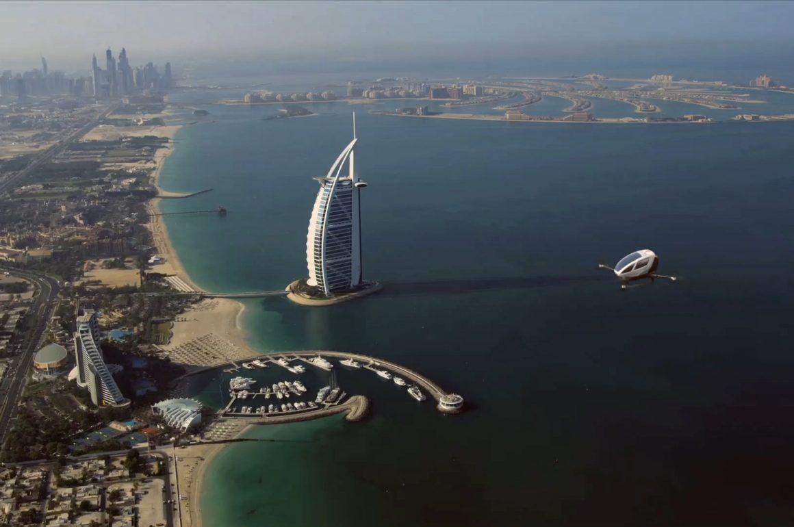 Dubai lance le taxi volant
