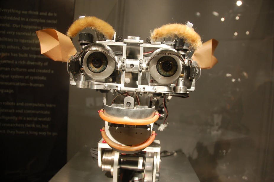 Intelligence artificielle Robot Kismet