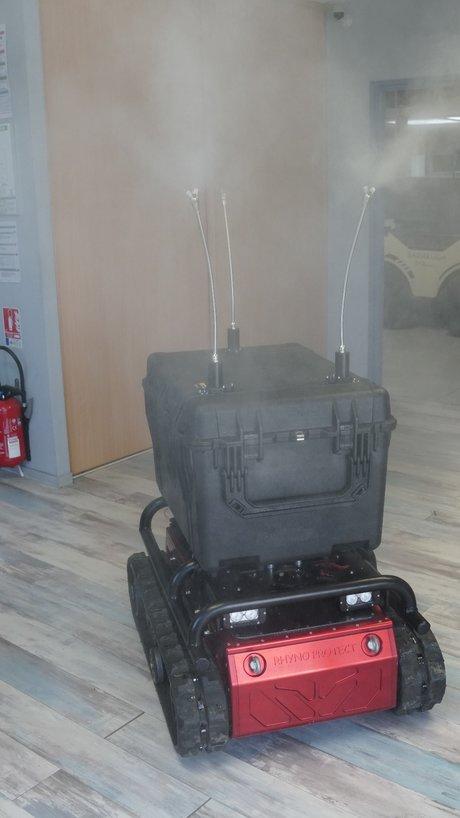 SHARK, le Robot Pour Décontaminer Les Espaces Infectés