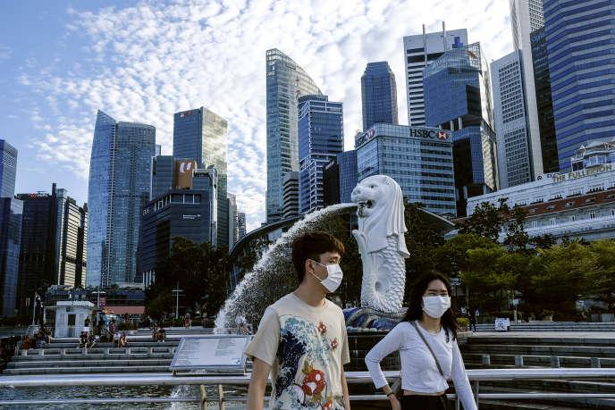 de confinement a Singapour